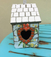 Jubes Originals Mosaic Bird & Fairy Houses