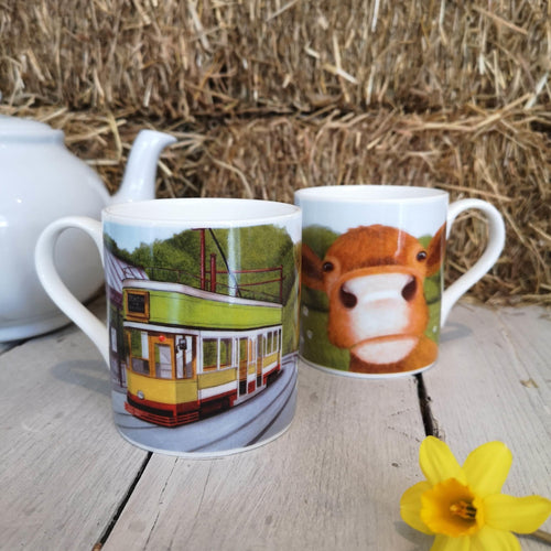 Lucy's Farm Moo Mugs