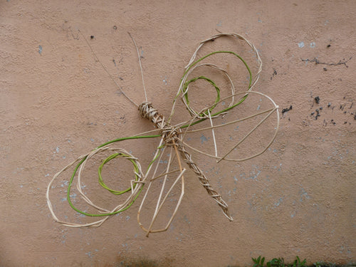 Make a Willow Dragonfly or Butterfly -  10/8, 25/9