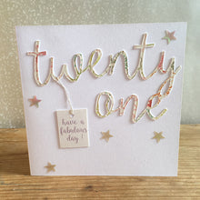 Milly Rufus Handmade Age Cards