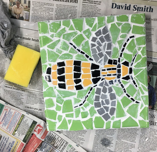 Mosaic Workshop - 25 & 26/6, 10 & 11/10