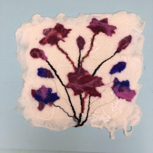 Next Steps with Wet Felting -  26/2
