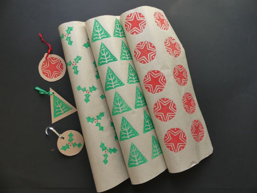 Printing Christmas Wrapping Paper & Tags - 16/11, 29/11
