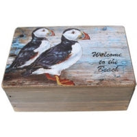 Rustic Puffin Box