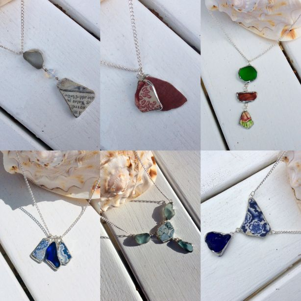 Sea Glass Jewellery - 6/12, 30/1, 13/2 & 24/3