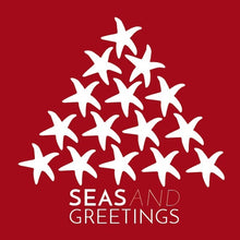 Sea Kisses Christmas Cards - Packs of 5