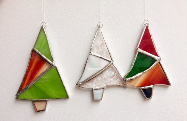 Stained Glass Christmas Decorations - 30/10, 9/11 & 30/11