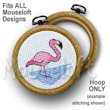 Cards & Hoops for Mouseloft Stitchlets Cross Stitch Kits