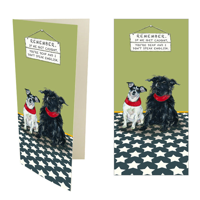 The Little Dog Laughed Dog & Cat Cards