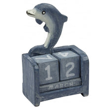 Wooden Calendars - Yacht , Dolphin & Fish