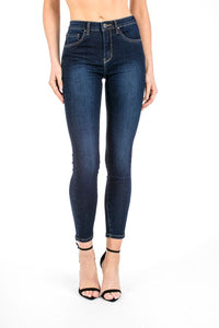 Dark Wash Skinny Denim
