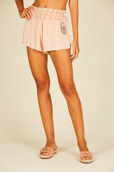 SURF GYPSY/VH SMOCKED WAIST SHORTS