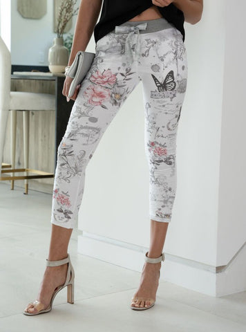 VENTI6 CRINKLE BUTTERFLY JOGGER
