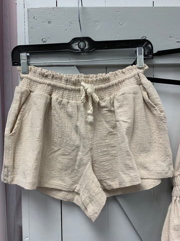 VINTAGE HAVANA/OCEAN DRIVE SAND SHORTS WITH W ROPE CORD