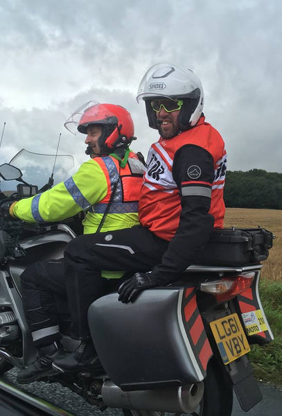 Dane Motorcycle Clothing & the Tour of Britain
