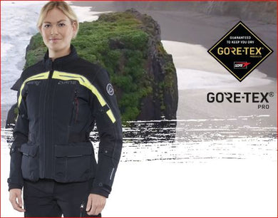 NEW Dane Nimbus Gore-Tex Pro Ladies Motorcycle Jacket, Moto65.
