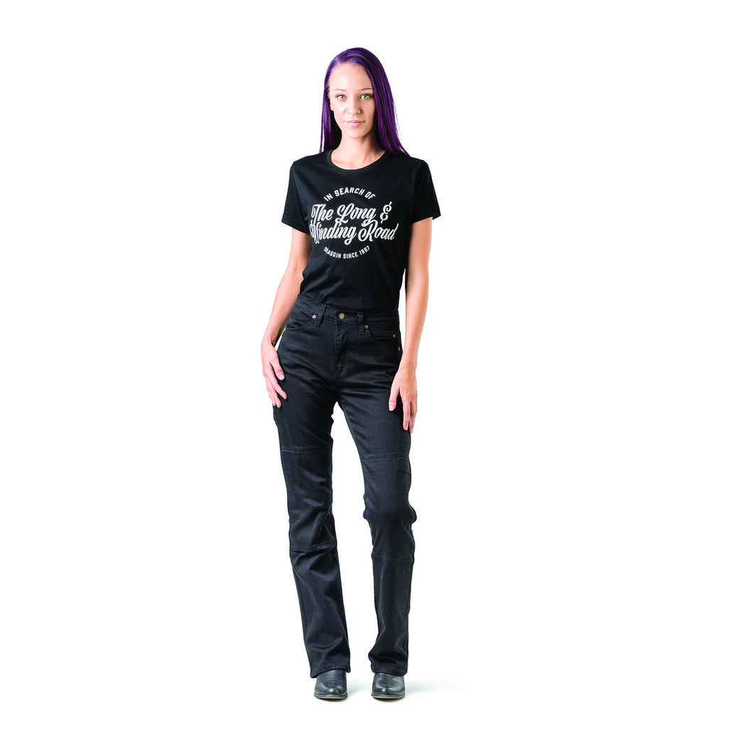 Draggin Classic RooMotoMR7+ Womens Motorcycle Jeans, Moto65.