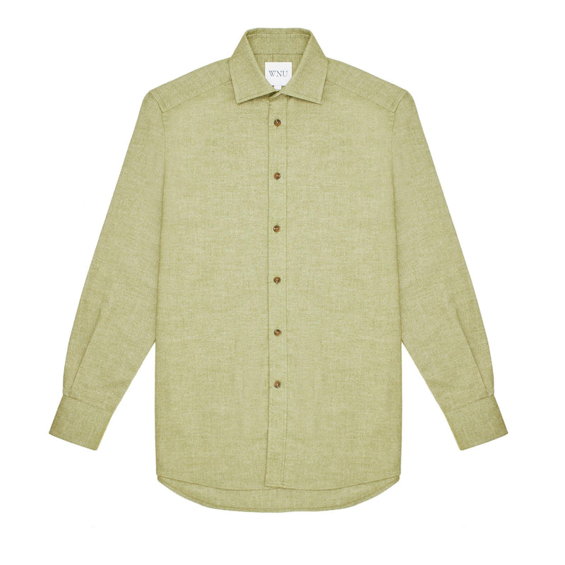 The Boyfriend: Brushed, Olive - With Nothing Underneath