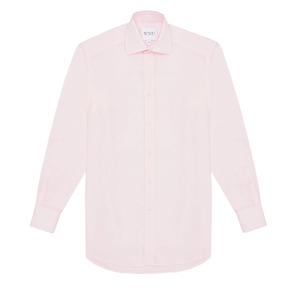 The Boyfriend: Poplin, Pink - With Nothing Underneath