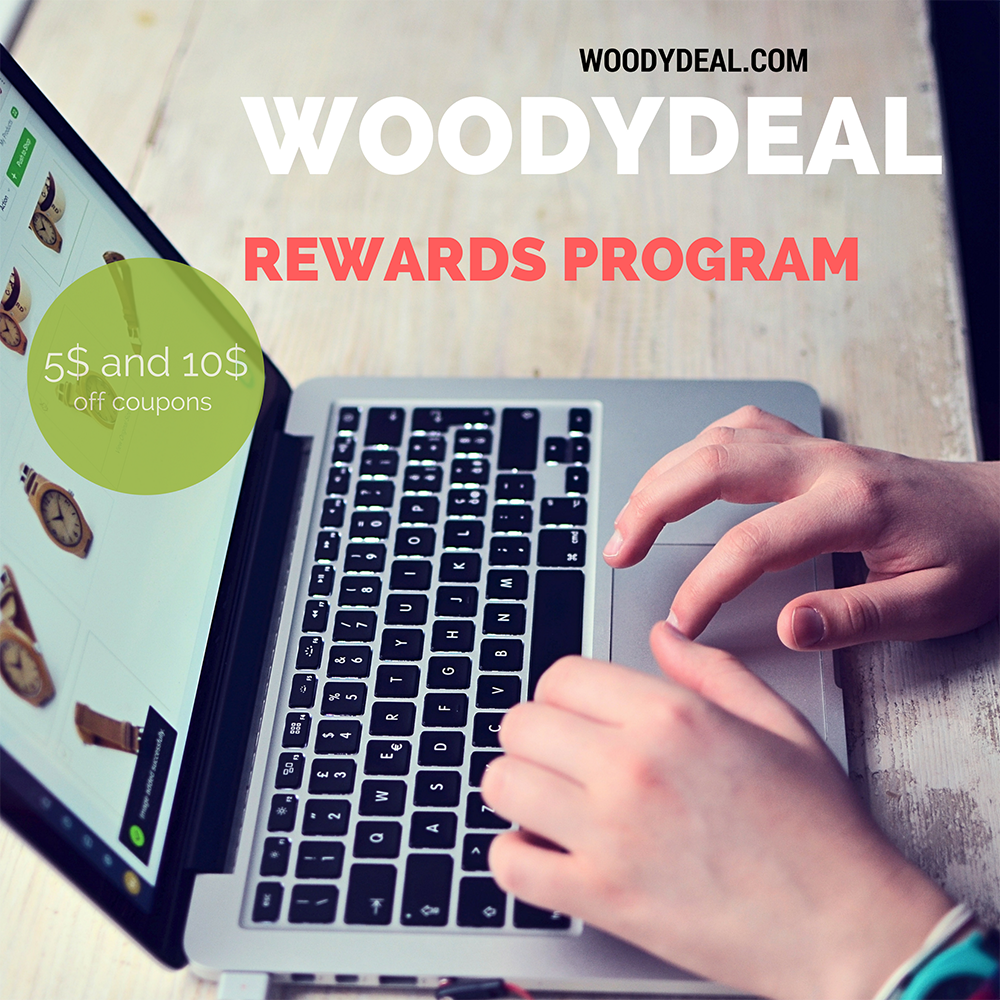 WoodydDeal Rewards Program