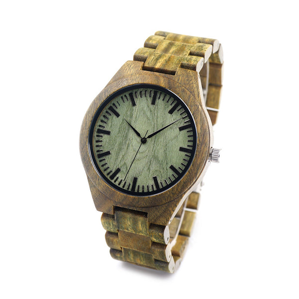 Luxury Wooden Watch: Sandalwood