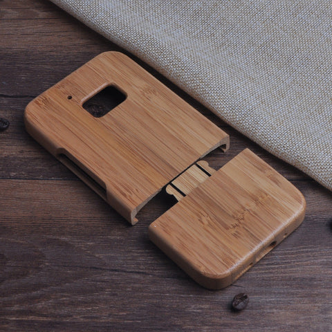 Wooden Bamboo Case (For HTC 10 One M10)