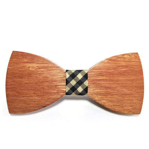 Elegant Wooden Bow Tie (for men)