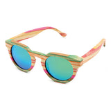Bamboo Sunglasses: Colorful Life