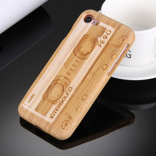Creative Wooden Bamboo Hard Case (For Apple iPhone 7)