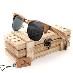 Wooden Sunglasses: Vintage Club