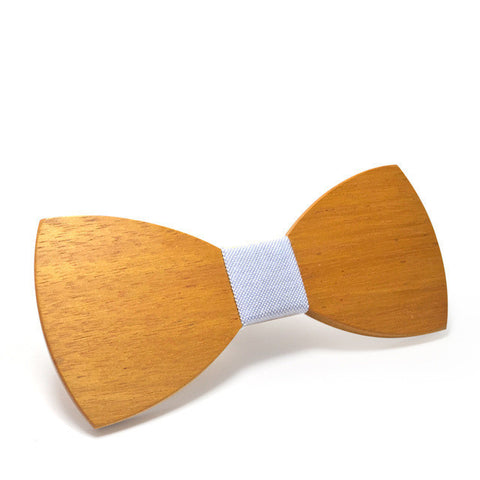 Handmade Bright Wooden Bow Ties (for men)