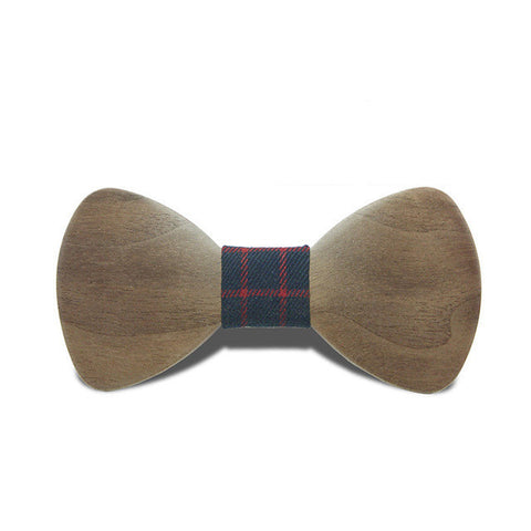 Costume Chic Wooden Bow Tie