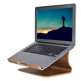 Wooden Laptop Holder: Handy Wood