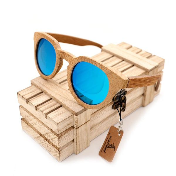 Bamboo Sunglasses: Close to Nature