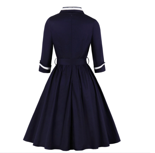 50s Rock A Billy Evening Dress - Ma Penderie Vintage