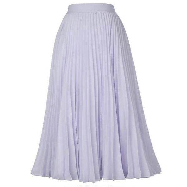 40s Pleated Midi Rock Skirt A Billy Gray - Ma Penderie Vintage