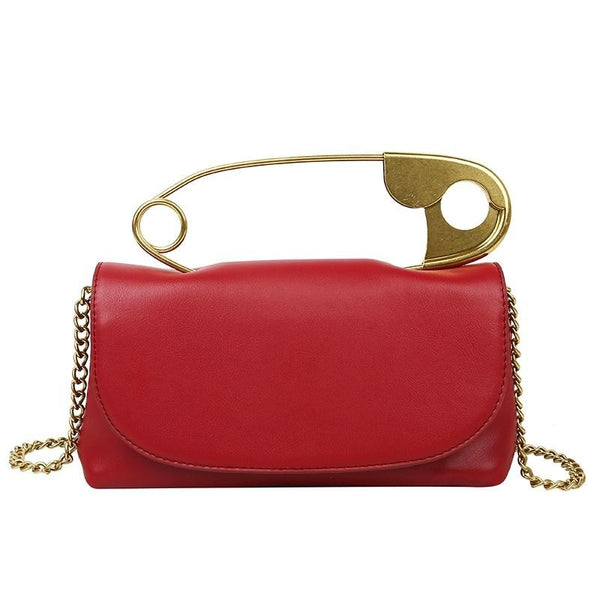 Year 50 Pin Up Red Handbag - Ma Penderie Vintage