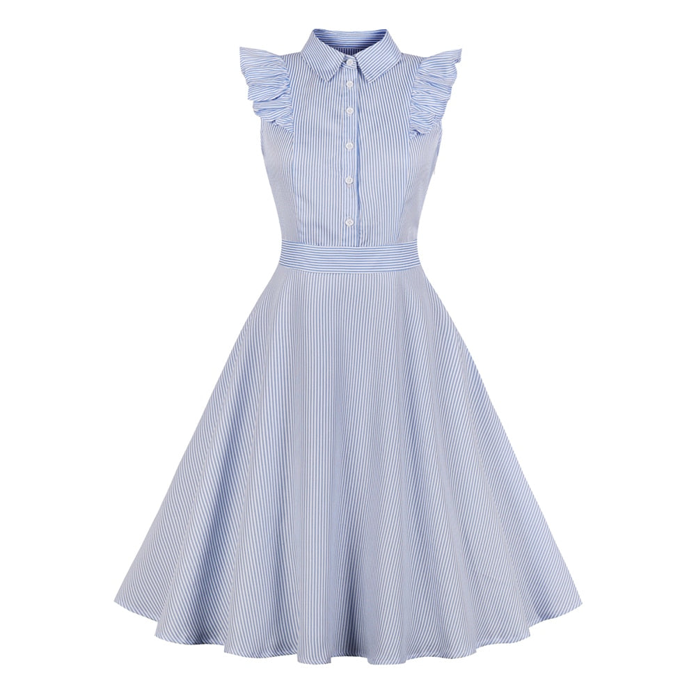 50s A Billy Rock Flare Dress - Ma Penderie Vintage