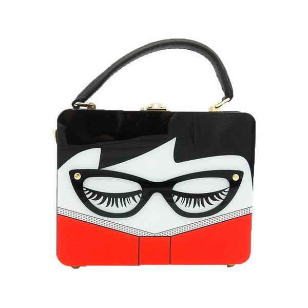 50s Rock A Billy Retro Pouch Bag - Ma Penderie Vintage