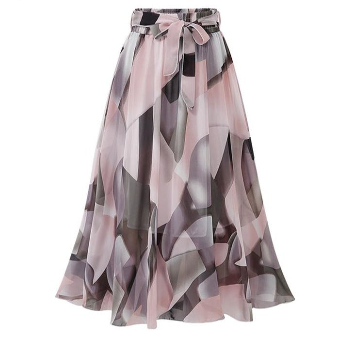 50s Special Plus Size Glamor Skirt Pink - Ma Penderie Vintage