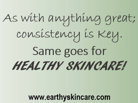 Be Consistent with Your Healthy Skincare Choices