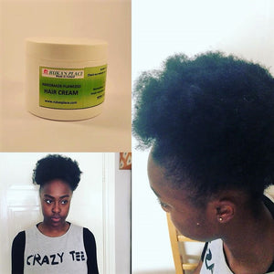 MY HANDMADE NATURAL HAIR FOOD WORKS!!!