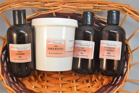 Natural Raw Skincare Products