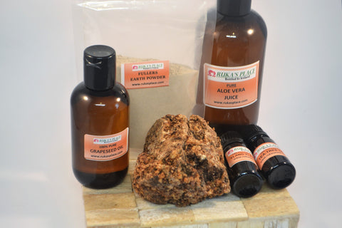 African Black Soap Hair Wash