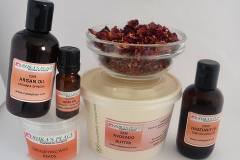 Rose Body Cream Ingredients