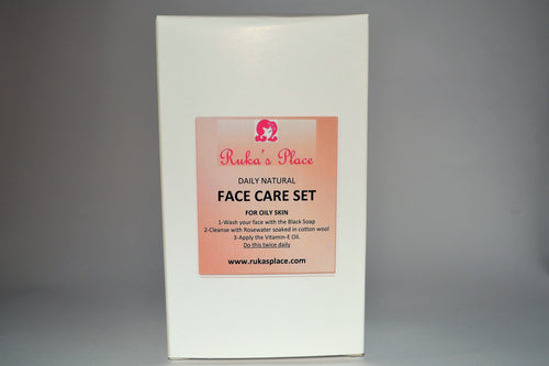 Daily Face Care Set for Oily Skin