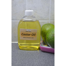 Castor Oil for Healthy Hair and Skin