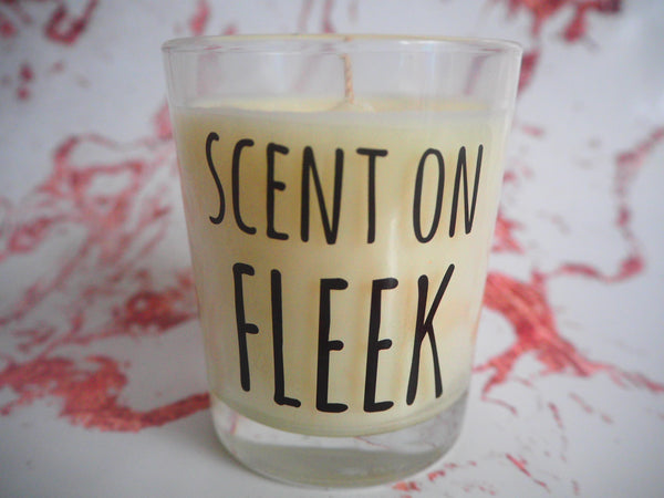 Scent on Fleek Slogan Candle