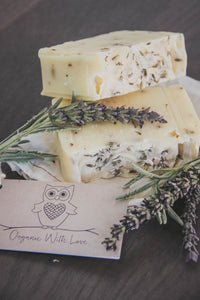 Organic Lavender Lemongrass Handcrafted Soap