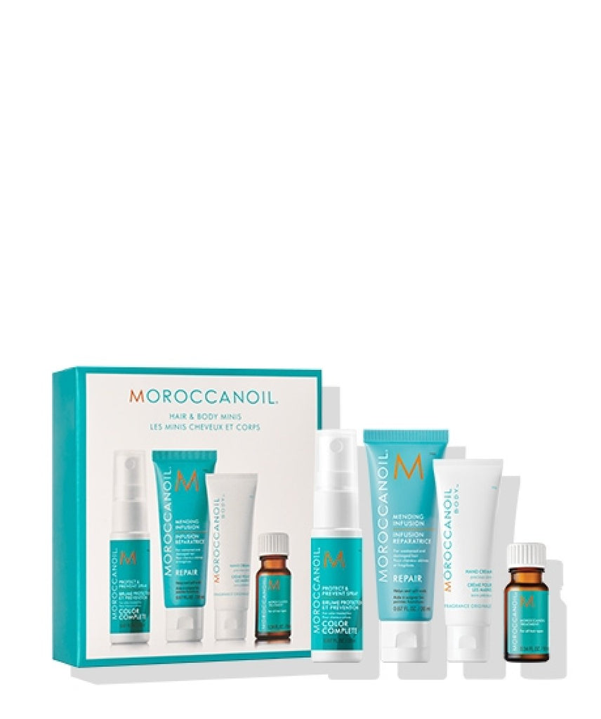 MOROCCAN OIL HAIR AND BODY MINIS